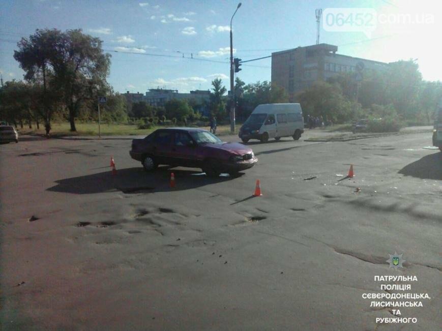 В результате ДТП в Северодонецке пострадал один из водителей (фото), фото-1