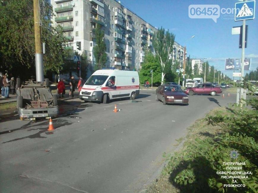 В результате ДТП в Северодонецке пострадал один из водителей (фото), фото-5