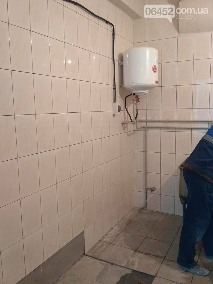 В Северодонецкой горбольнице ремонтируют пищеблок (фото), фото-11