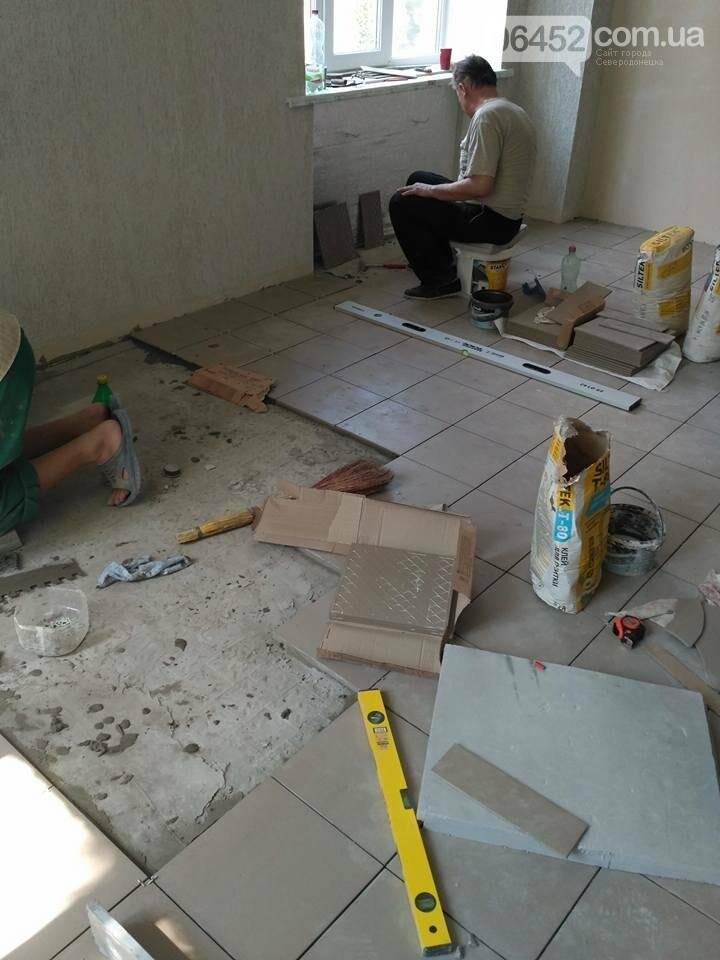 Рабочие приступили к очередному этапу ремонта пищеблока Северодонецкой горбольницы (фото), фото-2
