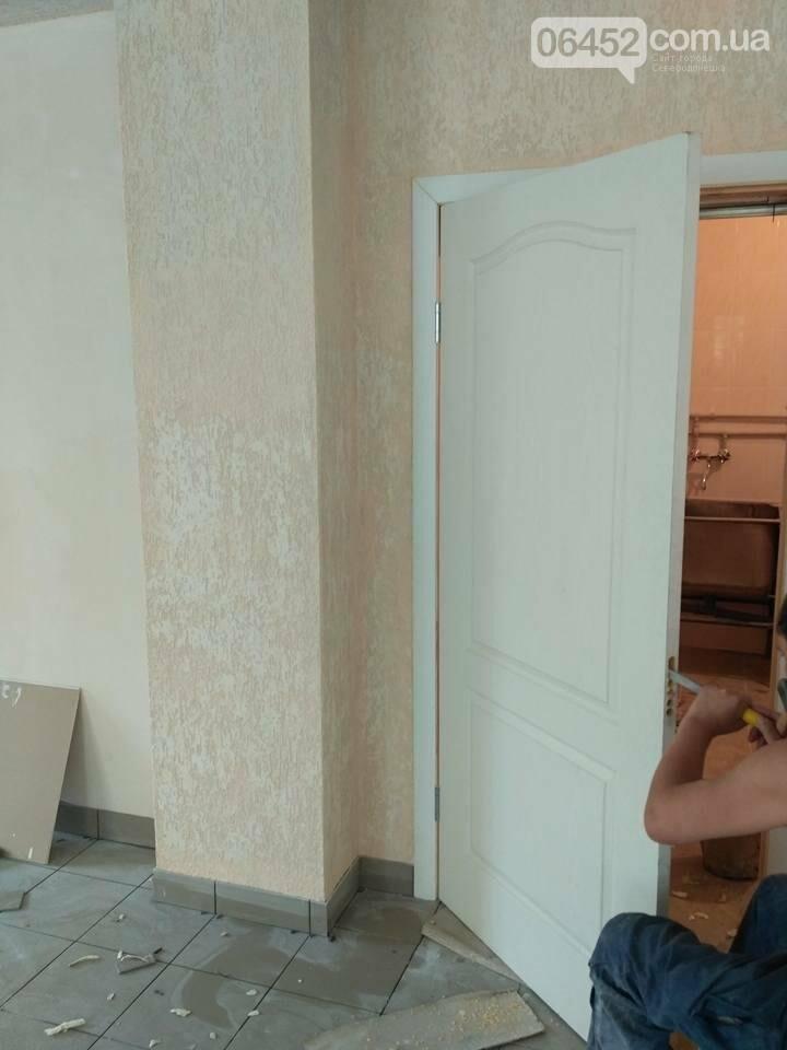 Рабочие приступили к очередному этапу ремонта пищеблока Северодонецкой горбольницы (фото), фото-4