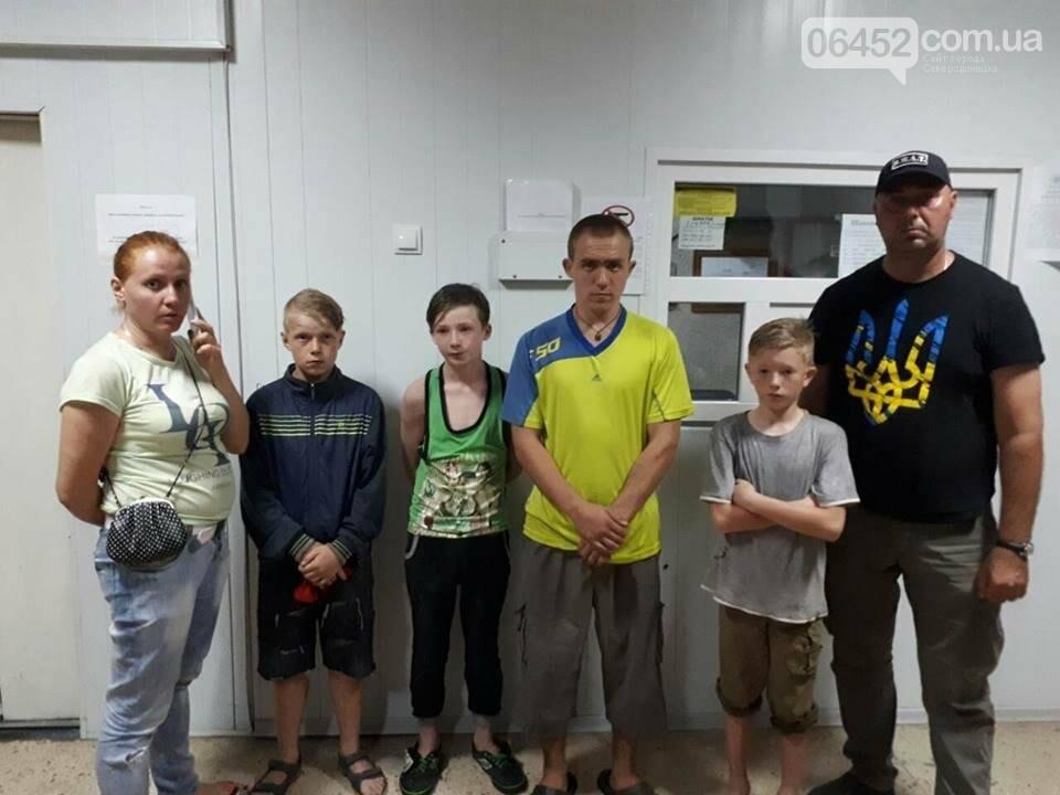 В Лисичанске дети сбежали из приюта детей, чтобы искупаться, фото-1