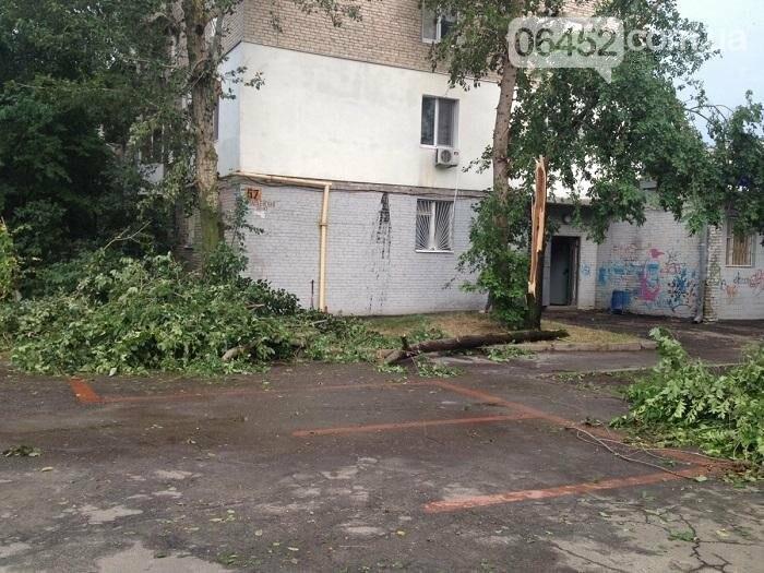Северодонецк накрыл ураган (фото), фото-3