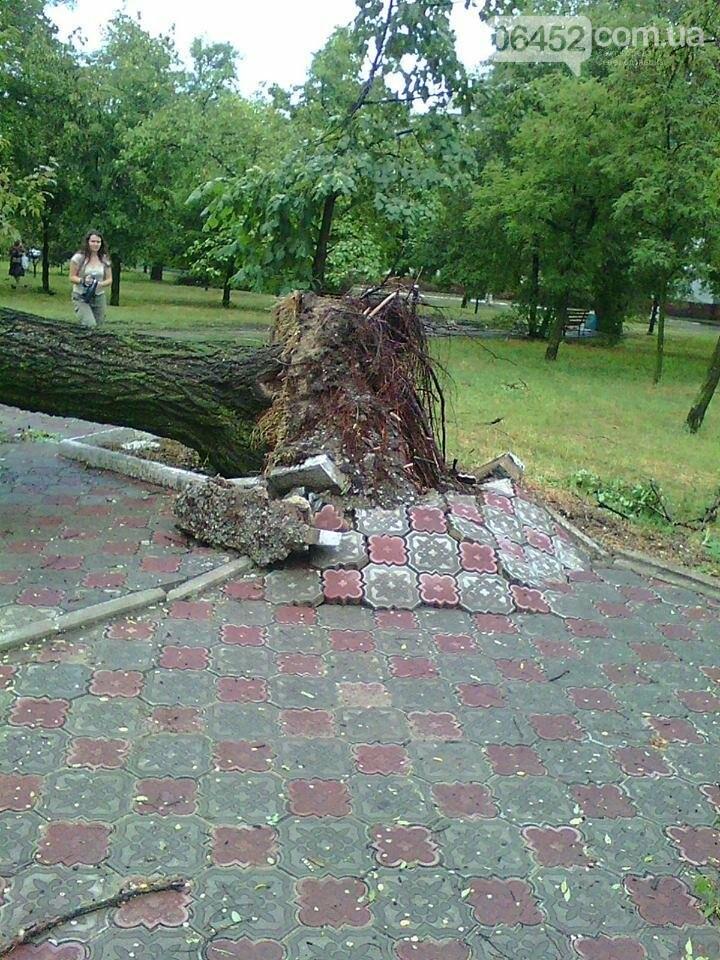 Северодонецк накрыл ураган (фото), фото-1