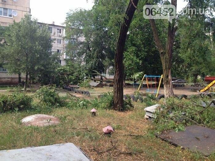 Северодонецк накрыл ураган (фото), фото-6
