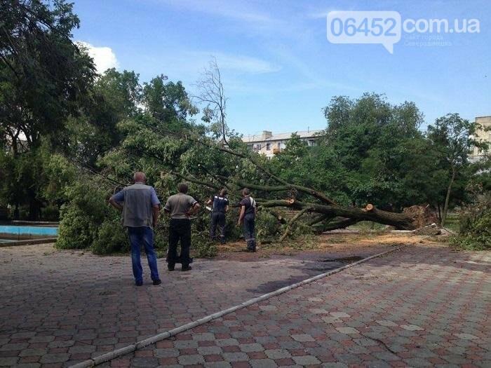 Северодонецк накрыл ураган (фото), фото-7
