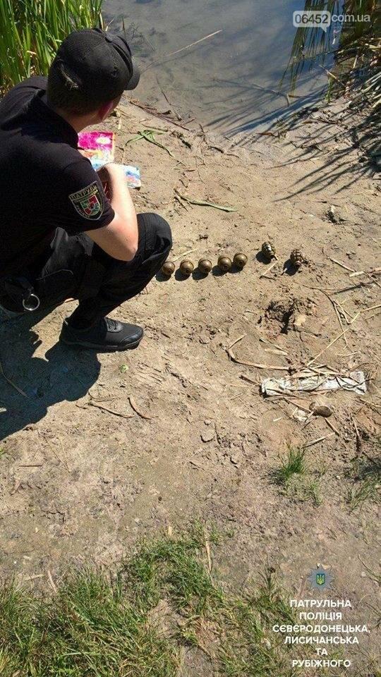 На Парковом озере полицейские обнаружили боеприпасы, фото-1