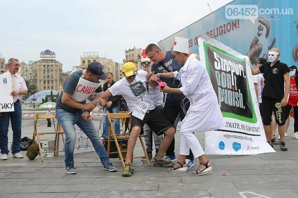 Представители ЛГБТ приняли участие в акции «Поддержать, не наказывать» (фото), фото-11