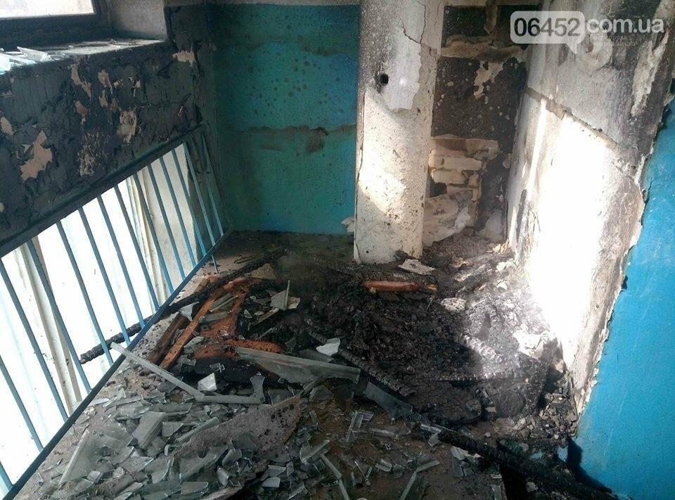 В Северодонецке горела многоэтажка, фото-1