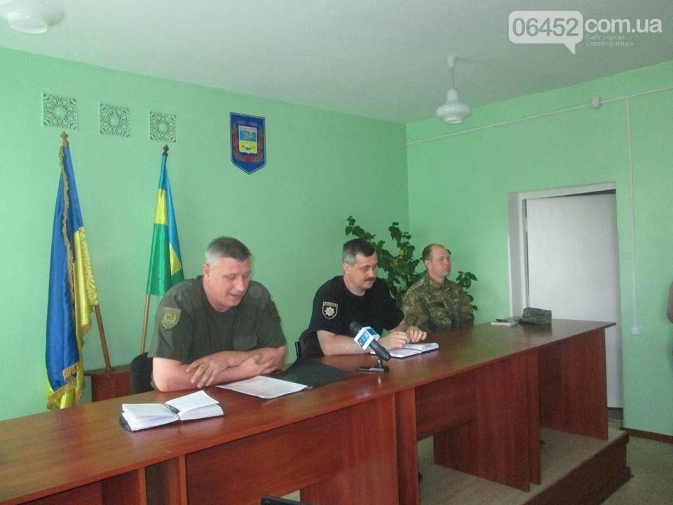 В Северодонецке руководство местной полиции рассказало о своих успехах, фото-1