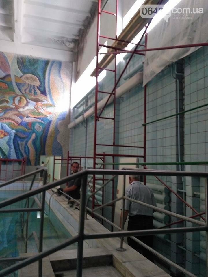 Начат ремонт северодонецкой водолечебницы (фото), фото-6