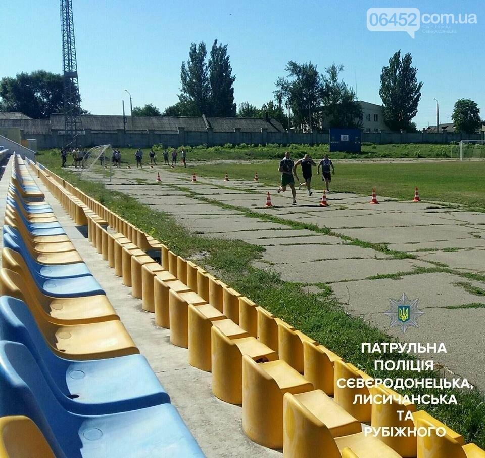 В Северодонецке будущие полицейские показали свою физподготовку (фото), фото-7