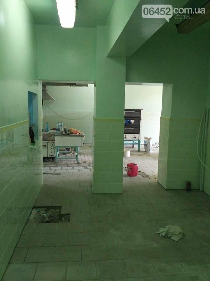 Начат ремонт в Северодонецкой СШ №17 (фото), фото-3