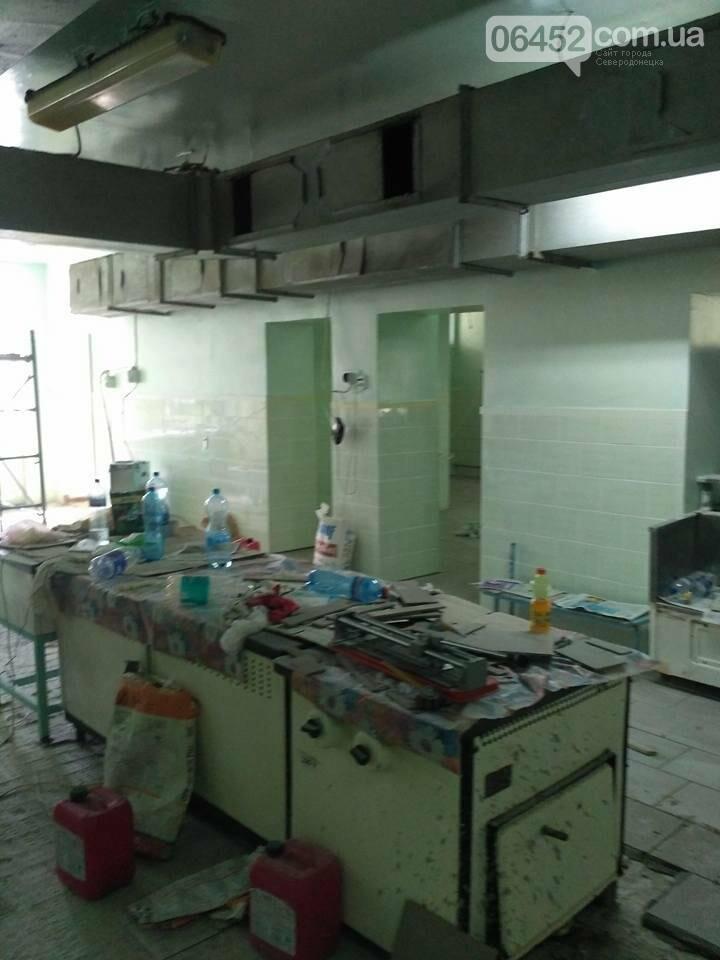 Начат ремонт в Северодонецкой СШ №17 (фото), фото-5