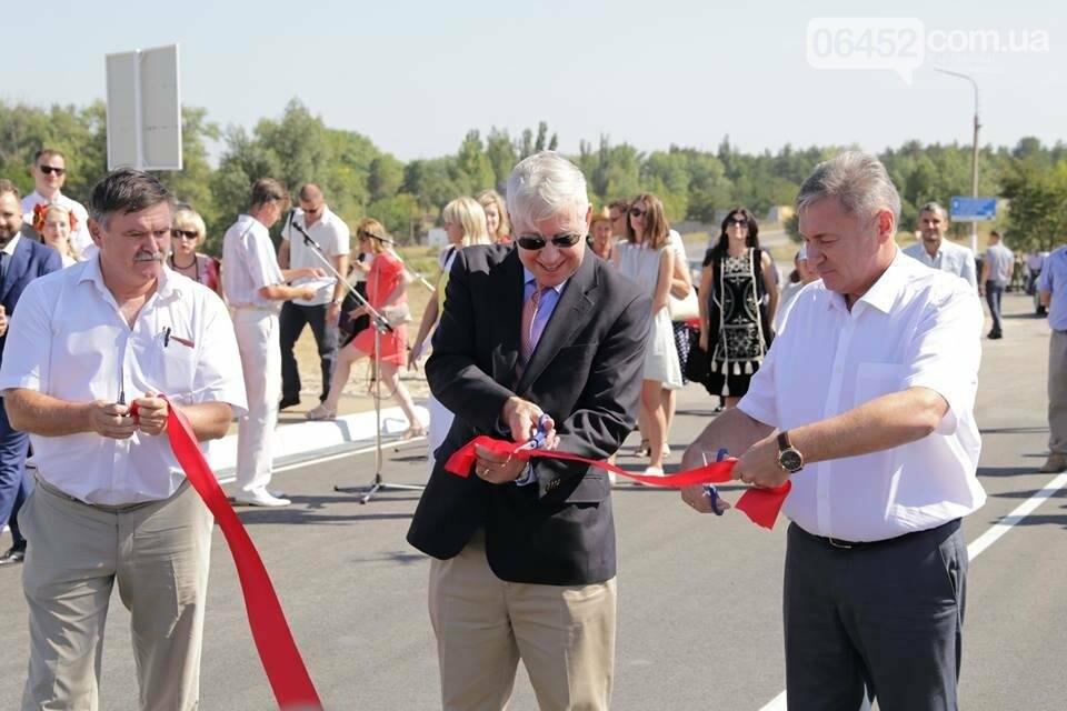 В Северодонецке открыли путепровод  по ул. Объездной (фото), фото-2