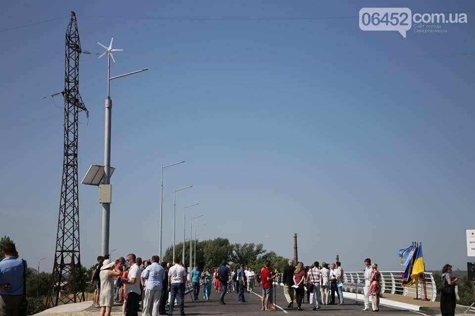 В Северодонецке открыли путепровод  по ул. Объездной (фото), фото-1
