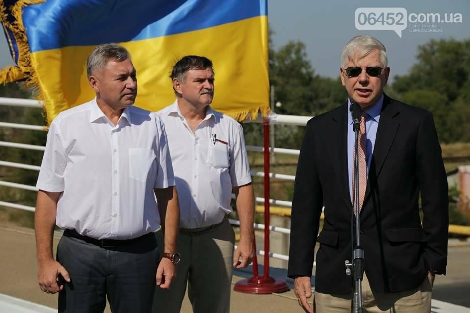 В Северодонецке открыли путепровод  по ул. Объездной (фото), фото-3