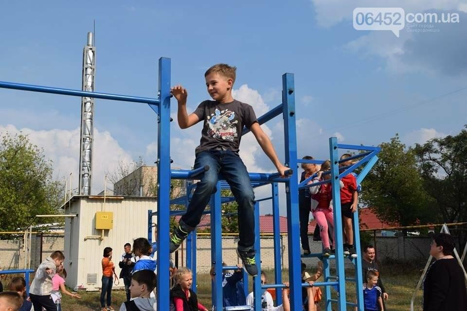 В Северодонецке состоялось открытие площадок для воркаута (фото), фото-7