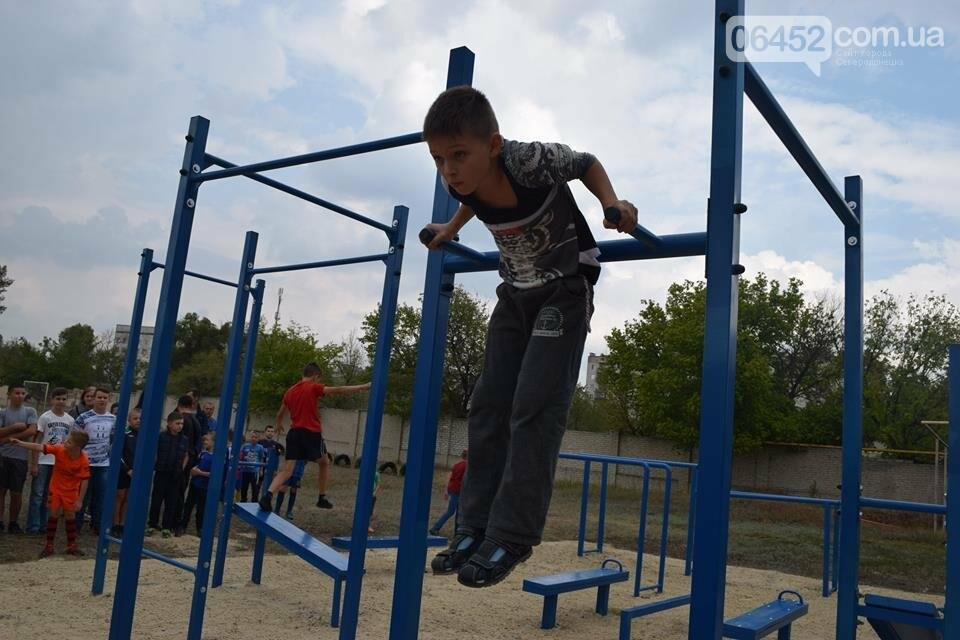 В Северодонецке состоялось открытие площадок для воркаута (фото), фото-8
