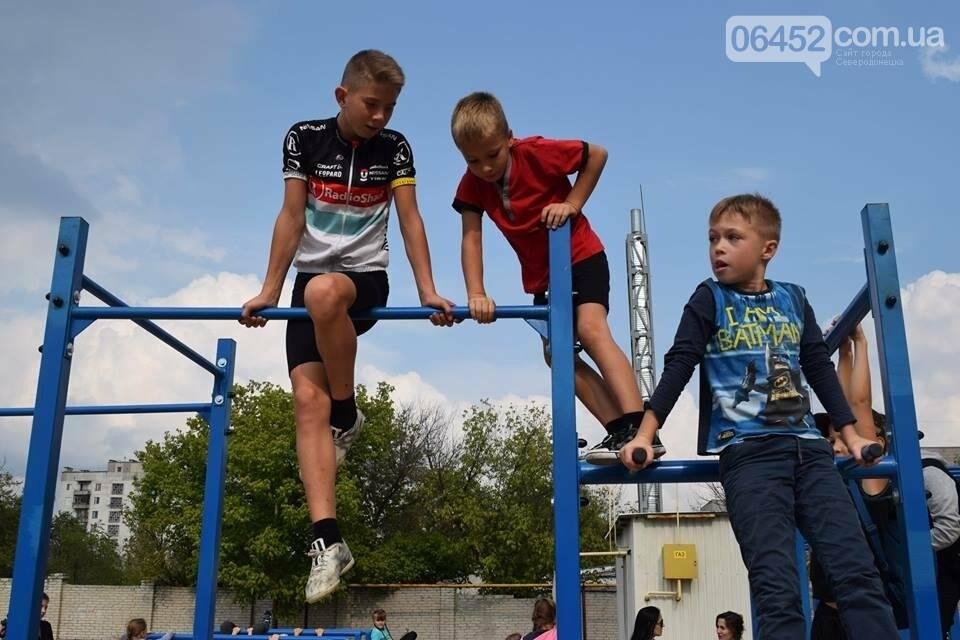 В Северодонецке состоялось открытие площадок для воркаута (фото), фото-5