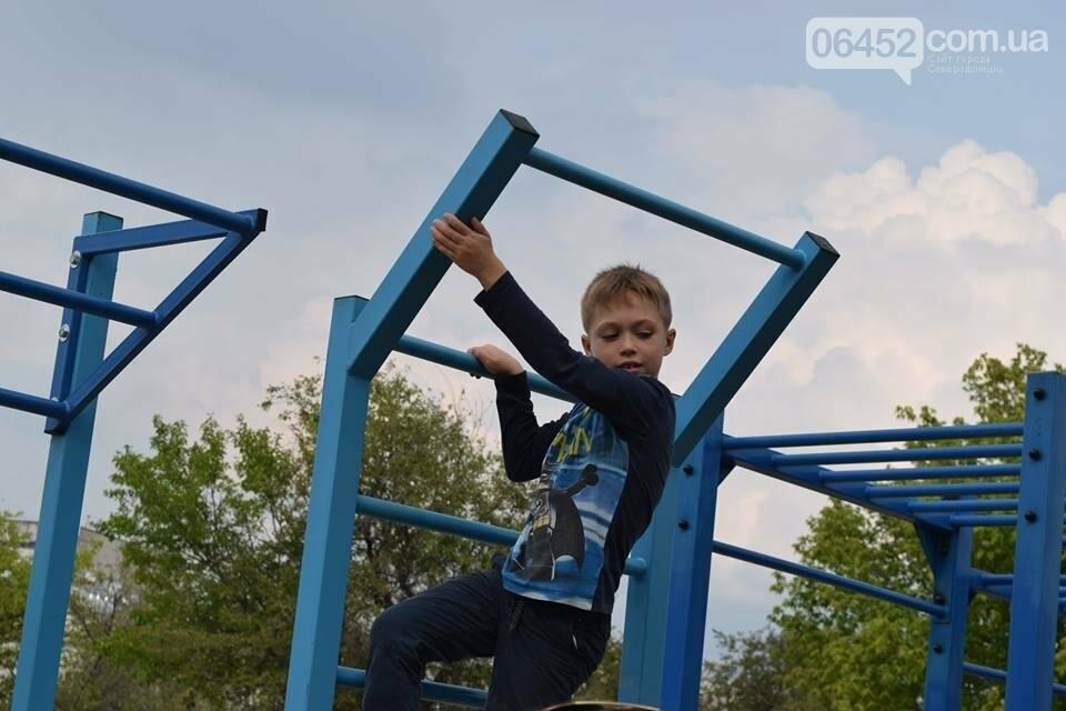 В Северодонецке состоялось открытие площадок для воркаута (фото), фото-2
