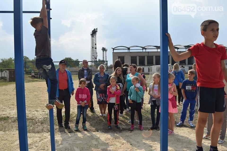 В Северодонецке состоялось открытие площадок для воркаута (фото), фото-6