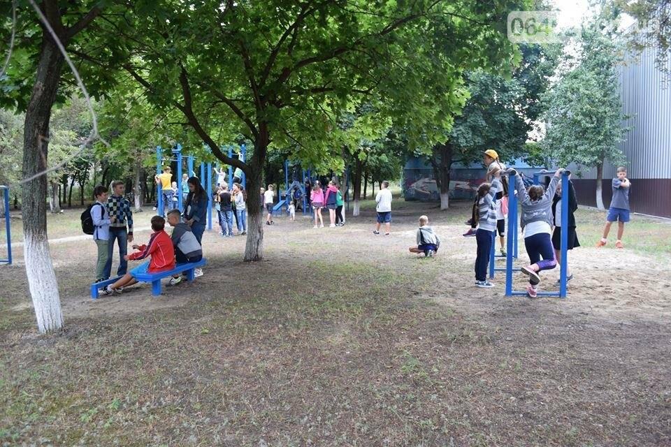 В Северодонецке состоялось открытие площадок для воркаута (фото), фото-11