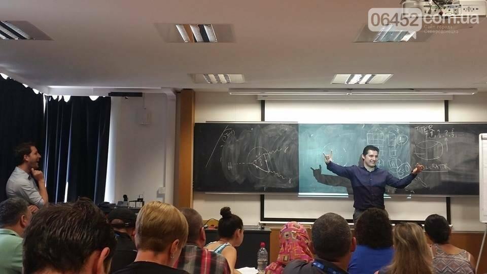 Единственная, со всей Украины, посетила Большой адронный коллайдер., фото-1