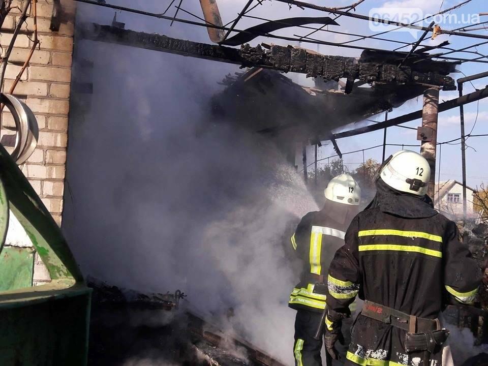 В Северодонецке сгорела частная дача (фото), фото-3