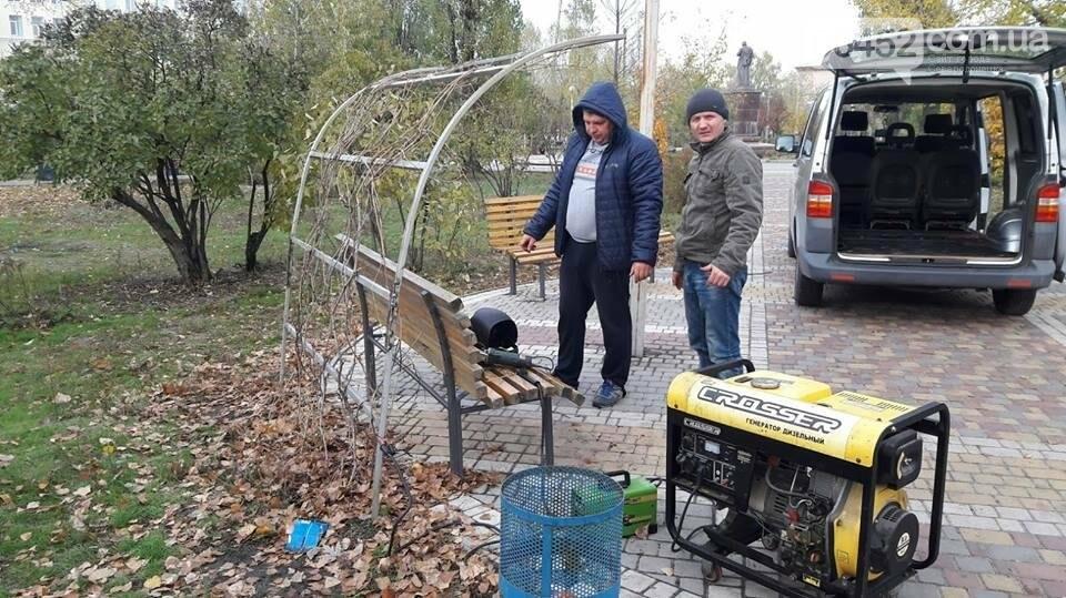 В Северодонецке после разгула вандалов привели в порядок поврежденный сквер Гоголя (фото), фото-5