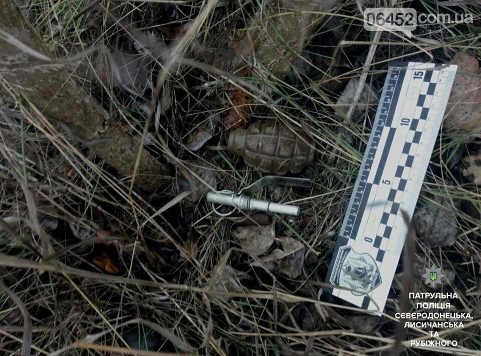 Возвращаясь домой северодончанин нашел в траве гранату (фото), фото-3
