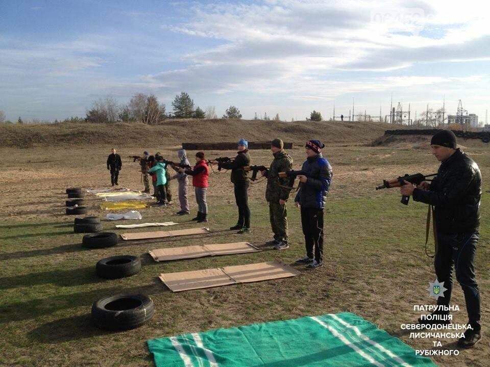 В Северодонецке будущие патрульные упражнялись в стрельбе (фото), фото-4