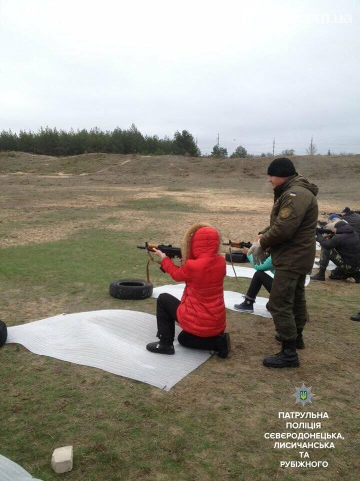 В Северодонецке будущие патрульные упражнялись в стрельбе (фото), фото-7