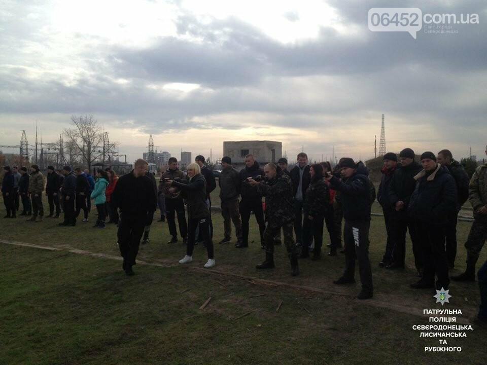В Северодонецке будущие патрульные упражнялись в стрельбе (фото), фото-3