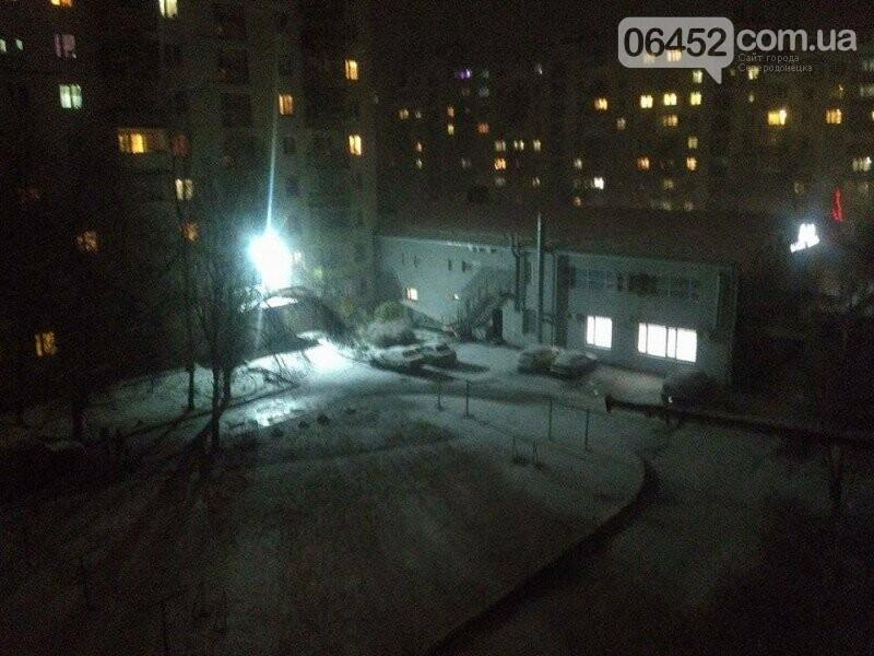 В Северодонецке выпал первый снег (фото), фото-2
