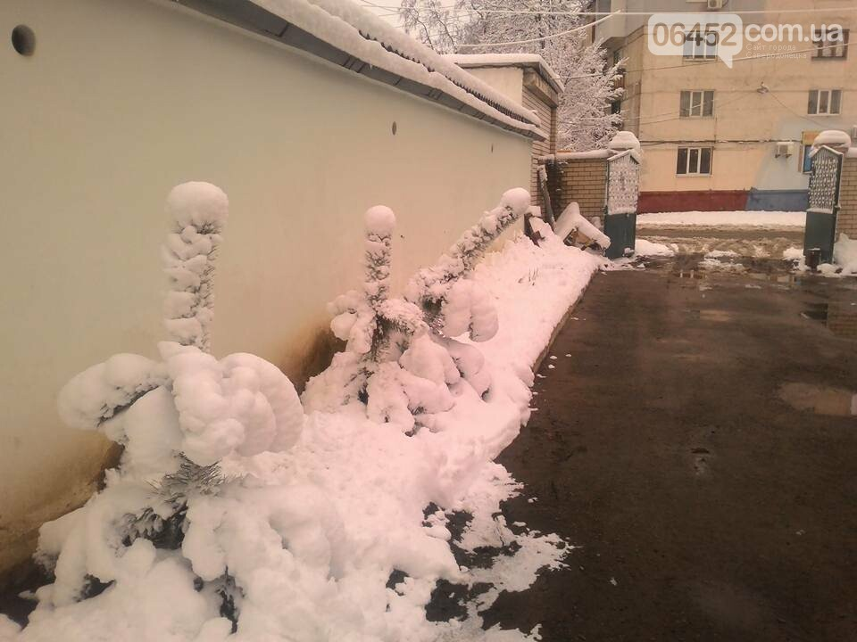 Пользователи соцсетей рассмотрели в заснеженных фото Лисичанска пошлость (фото), фото-3