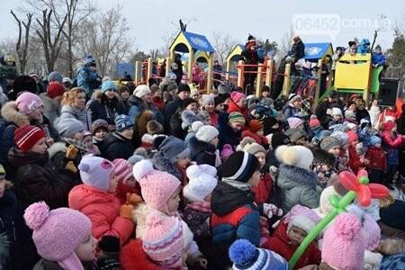 В Северодонецке открыли третий современный детский игровой комплекс (фото), фото-4