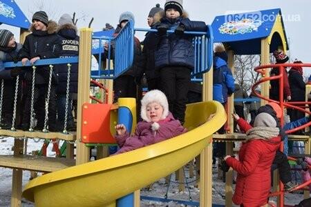 В Северодонецке открыли третий современный детский игровой комплекс (фото), фото-2