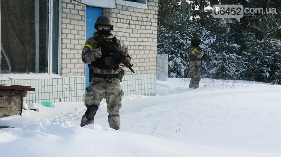 В Северодонецке прошли учения по освобождению заложников (фото), фото-9