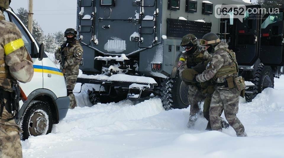 В Северодонецке прошли учения по освобождению заложников (фото), фото-8
