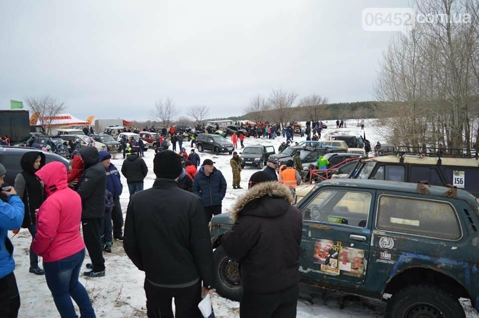 Зимний «Джип-спринт» прошел в Северодонецке (фото), фото-22
