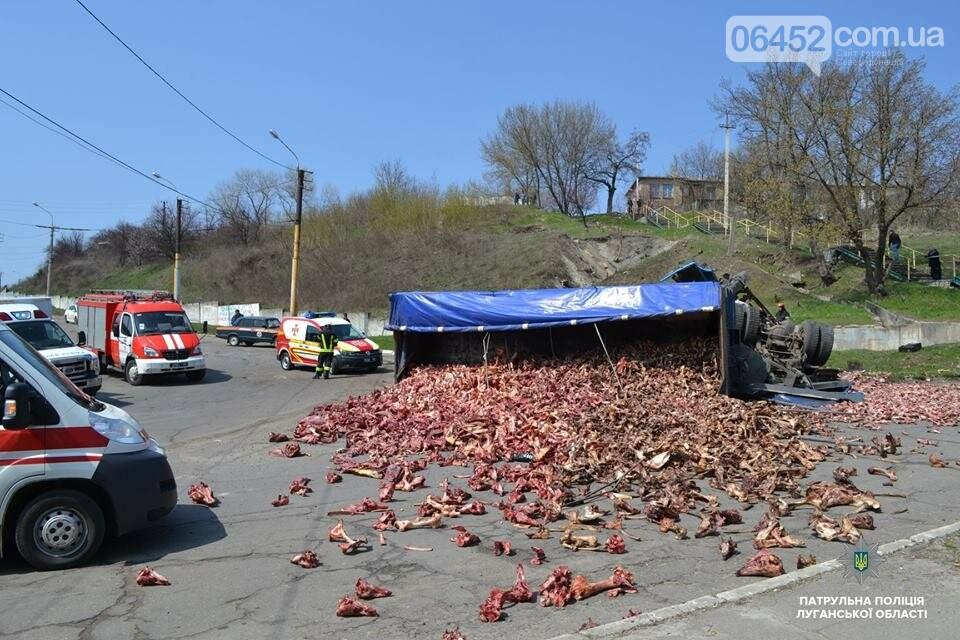 В Лисичанске произошло страшное ДТП: Маршрутка столкнулась с грузовиком (фото), фото-2