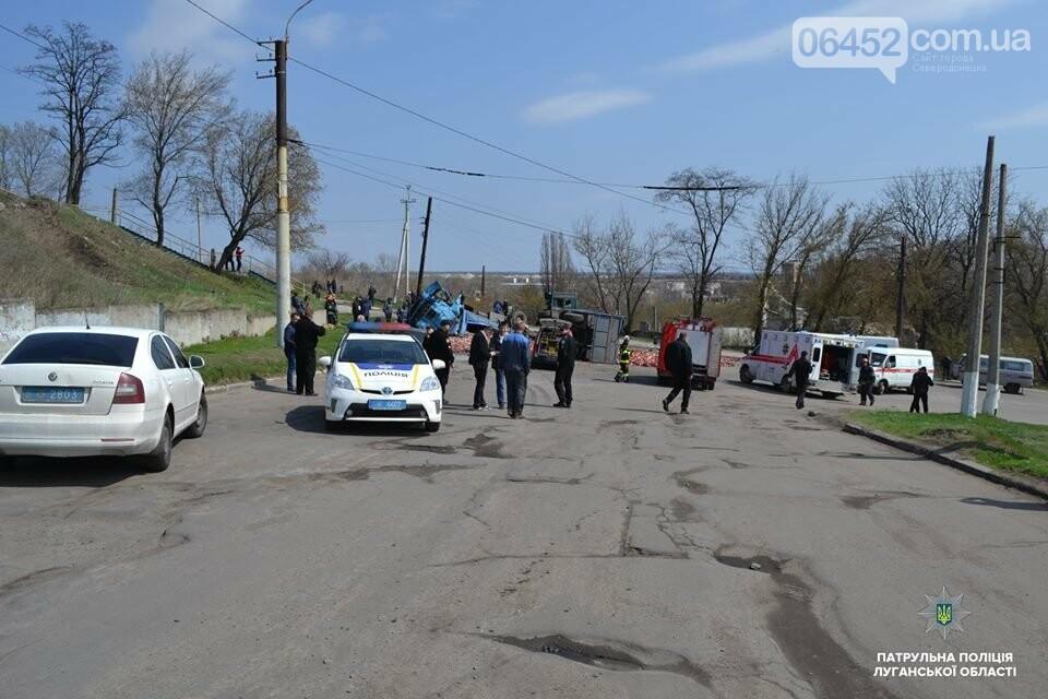 В Лисичанске произошло страшное ДТП: Маршрутка столкнулась с грузовиком (фото), фото-3