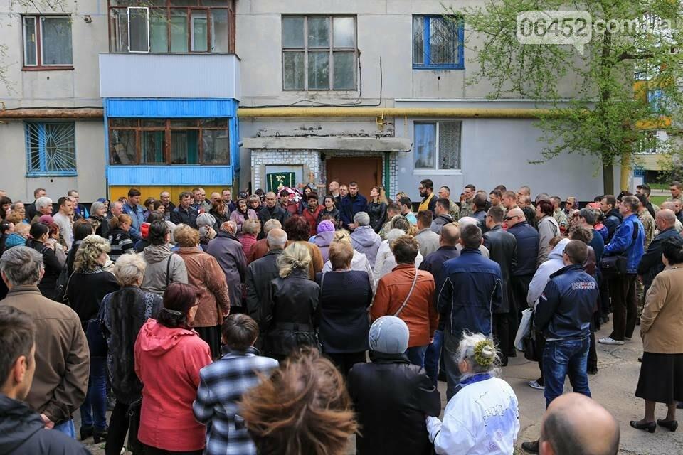 В Лисичанске простились с бойцом АТО (фото), фото-8