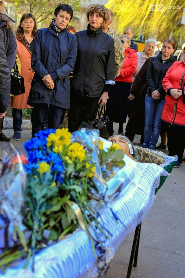 В Лисичанске простились с бойцом АТО (фото), фото-12