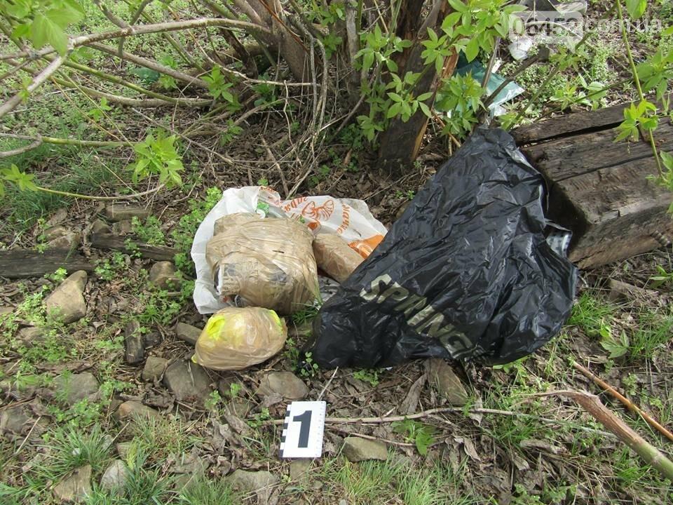 В Рубежном возле железной дороги нашли пакет с гранатами, шашками и патронами (фото), фото-6
