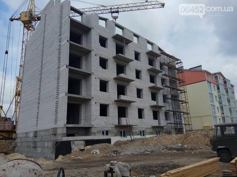 Успеют ли  в Северодонецке бетонную коробку за 2 месяца превратить в жилую многоэтажку?, фото-2