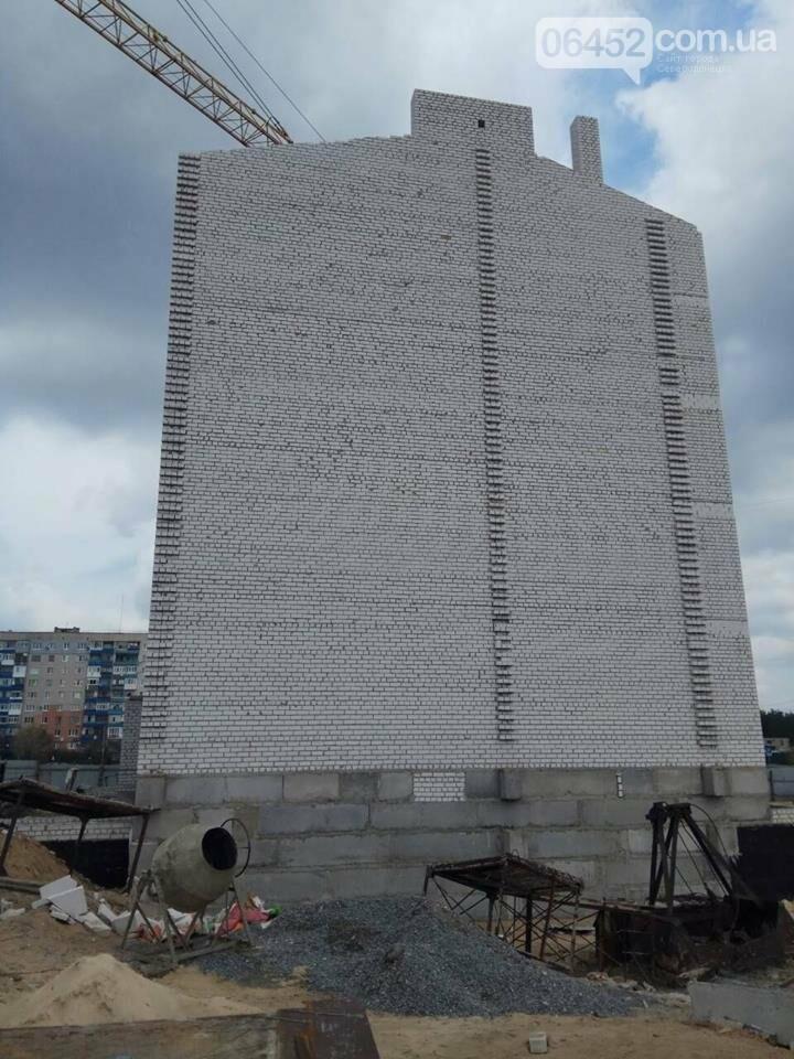 Успеют ли  в Северодонецке бетонную коробку за 2 месяца превратить в жилую многоэтажку?, фото-1