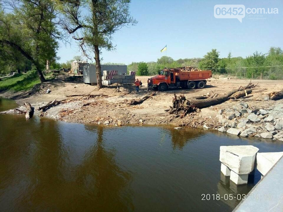 Спасатели и коммунальщики полностью расчистили от поваленных деревьев рубежанский мост , фото-1