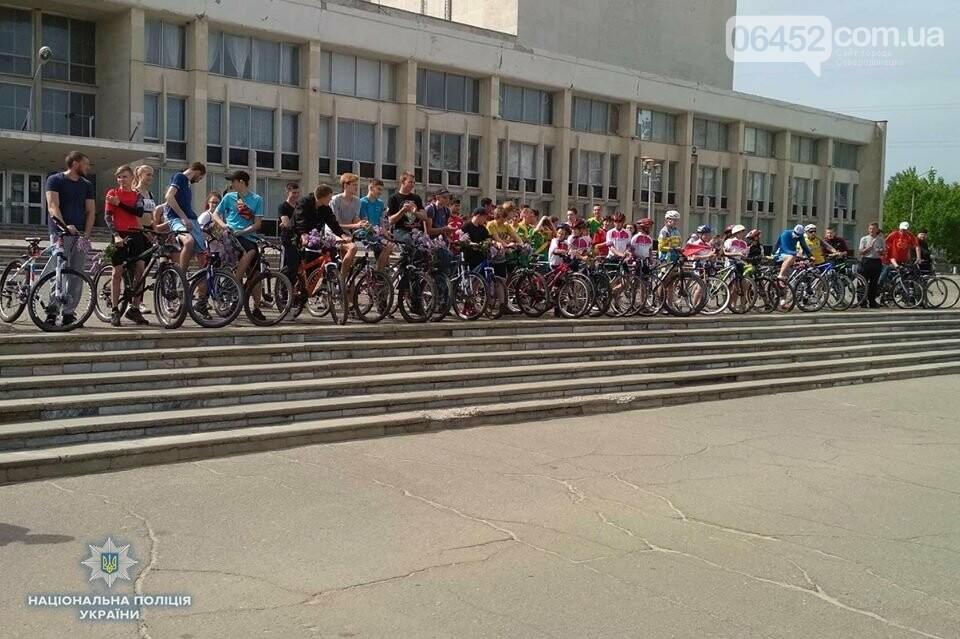 В Рубежном состоялся велопробег «Во имя Победы» (фото), фото-1